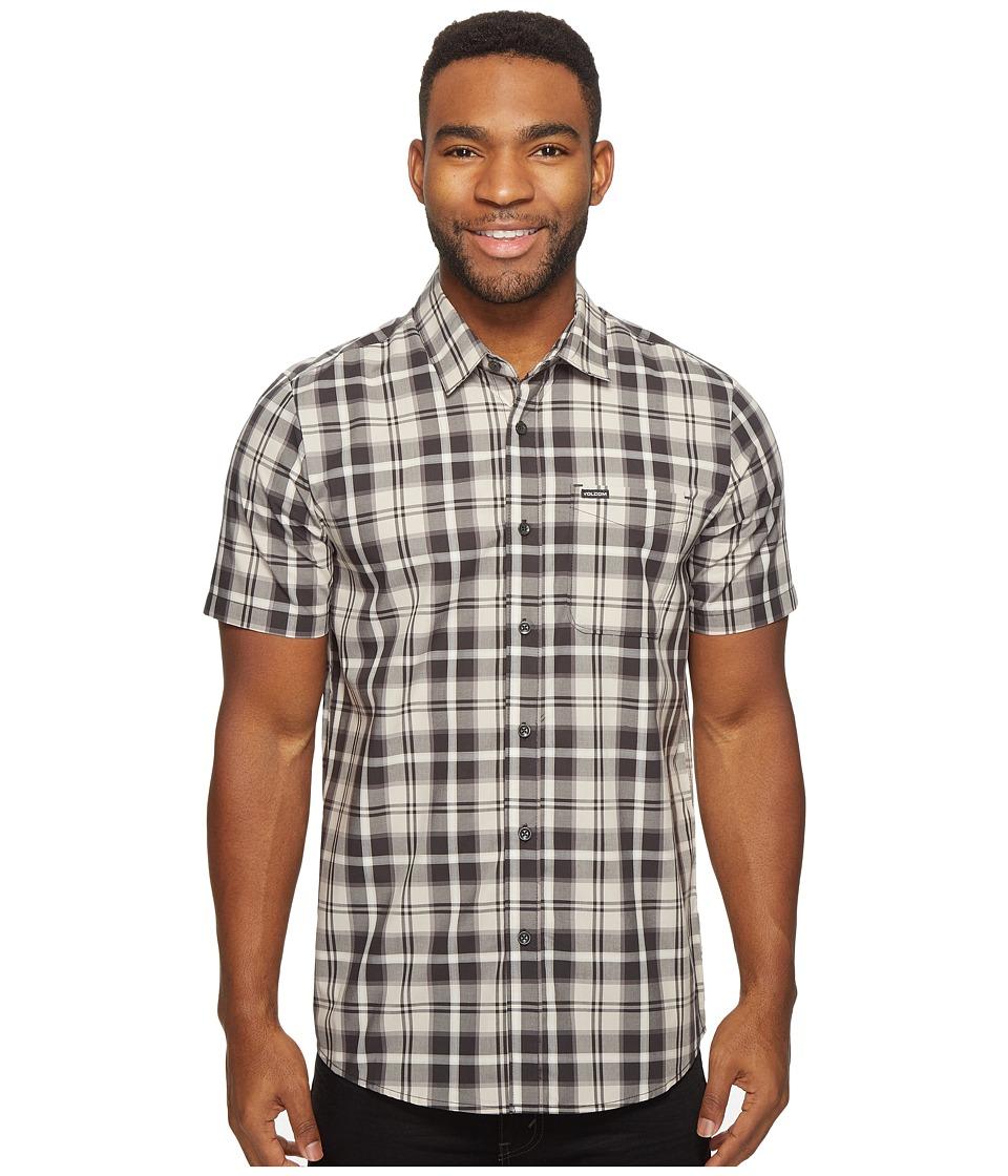 Volcom - Bennett Short Sleeve Woven (Sandstorm) Men's Clothing
