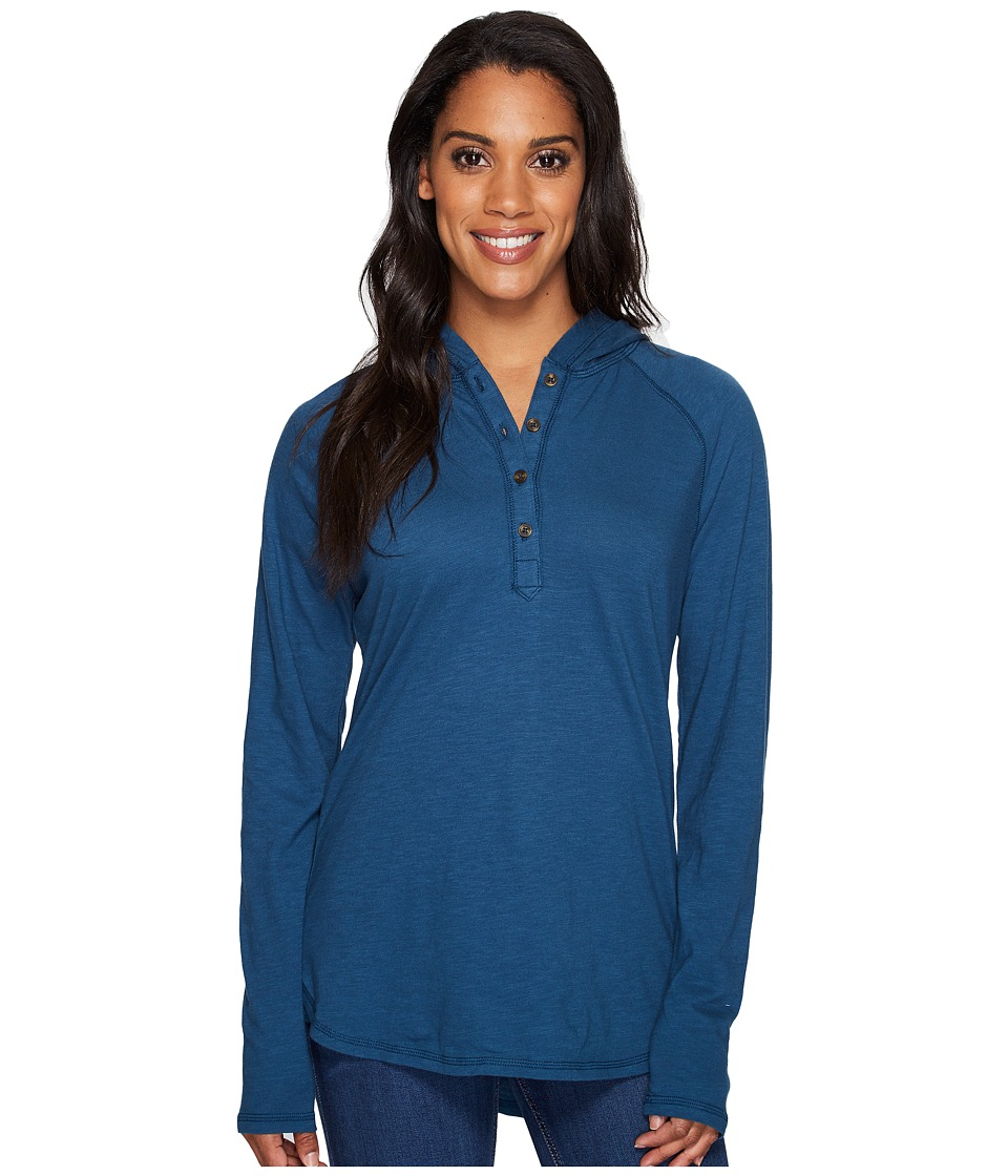 Carhartt - Coleharbor Hoodie (Stream Blue) Women's Sweatshirt