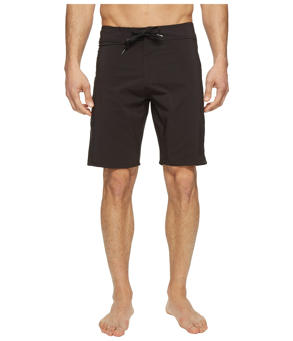Volcom - Lido Solid Mod 20 Boardshorts (Black) Men's Swimwear