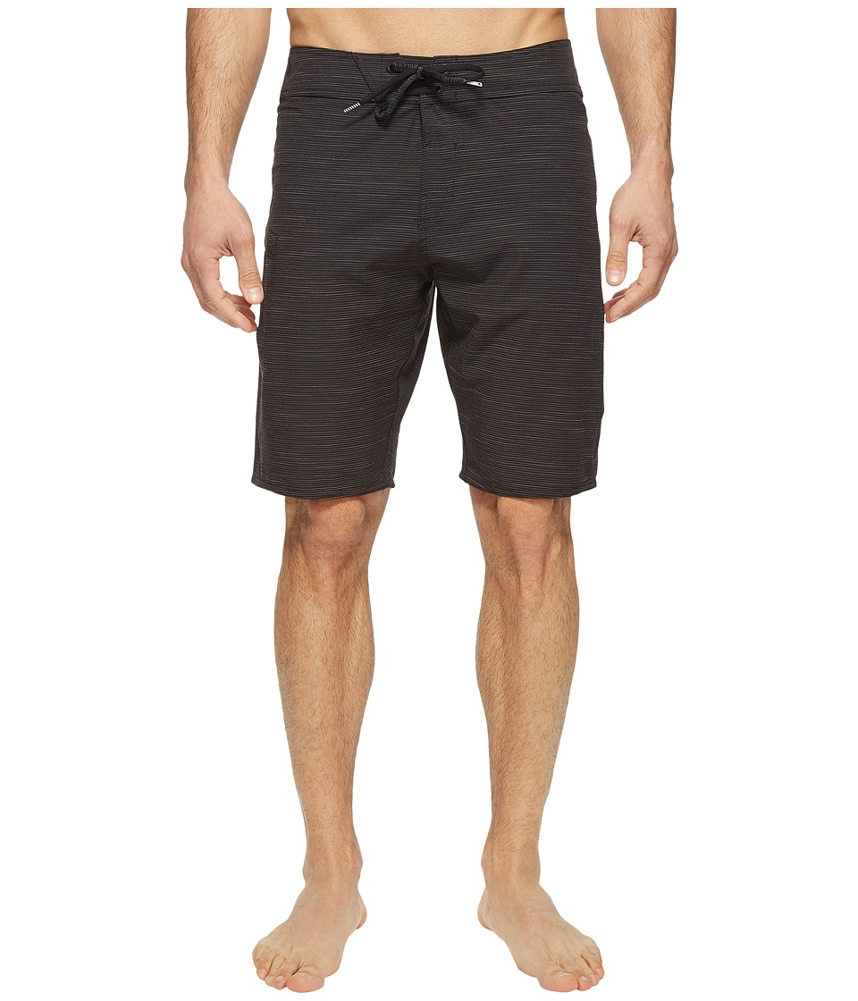 Volcom - Lido Slub Mod 20 Boardshorts (Black) Men's Swimwear