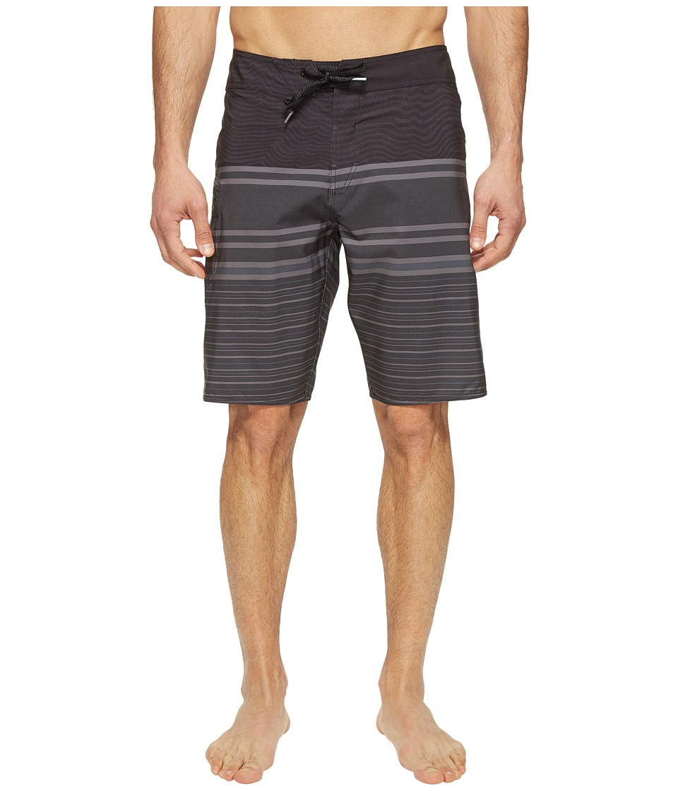 Volcom - Lido Liney Mod 21 Boardshorts (Black) Men's Swimwear