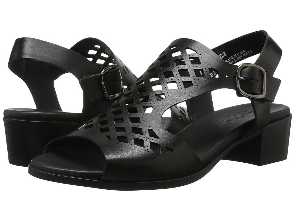 Munro - Martie (Black Leather) Women's Shoes