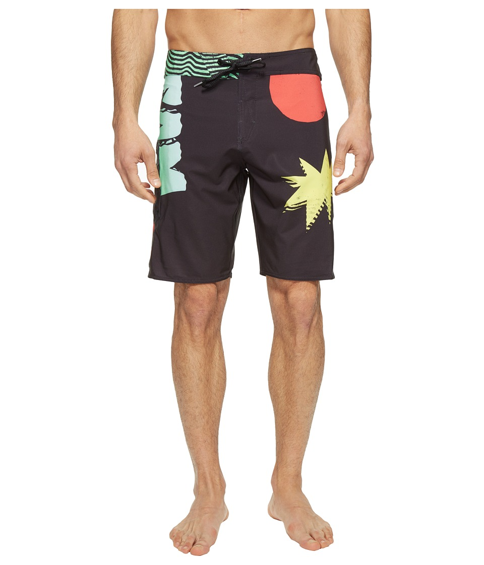 Volcom - Biggie Mod 19 Boardshorts (Multi) Men's Swimwear