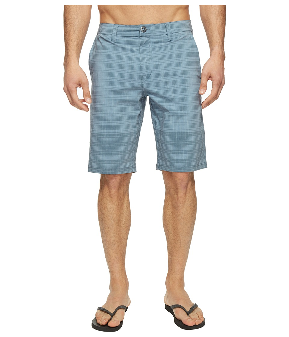 Volcom - Frickin SNT Mix Hybrid Shorts (Ash Blue) Men's Shorts