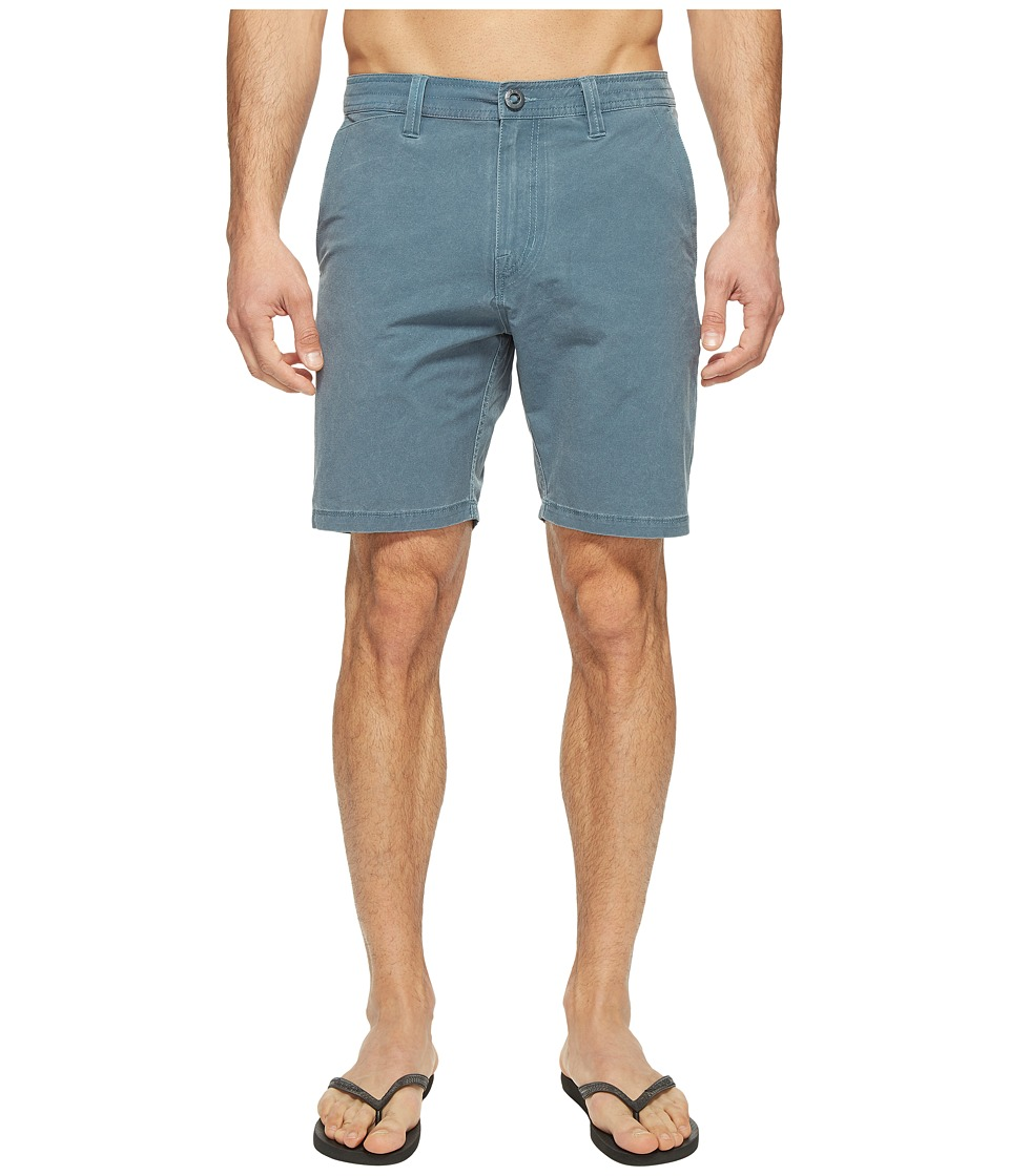 Volcom - SNT Faded Hybrid Shorts (Air Force Blue) Men's Shorts