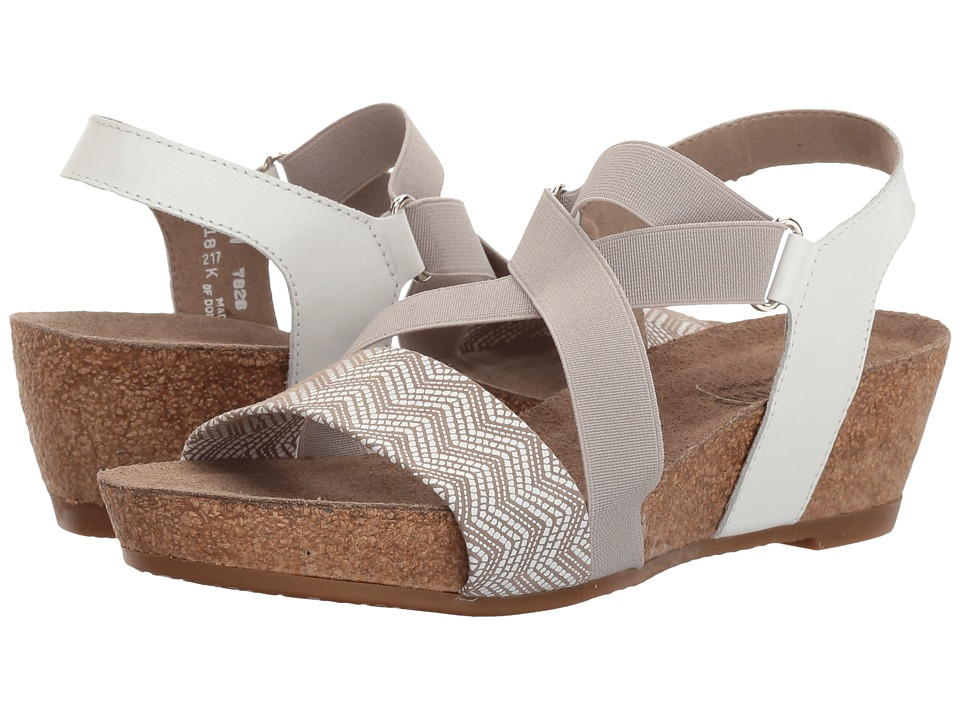 Munro - Lido (White/Grey Print) Women's Shoes