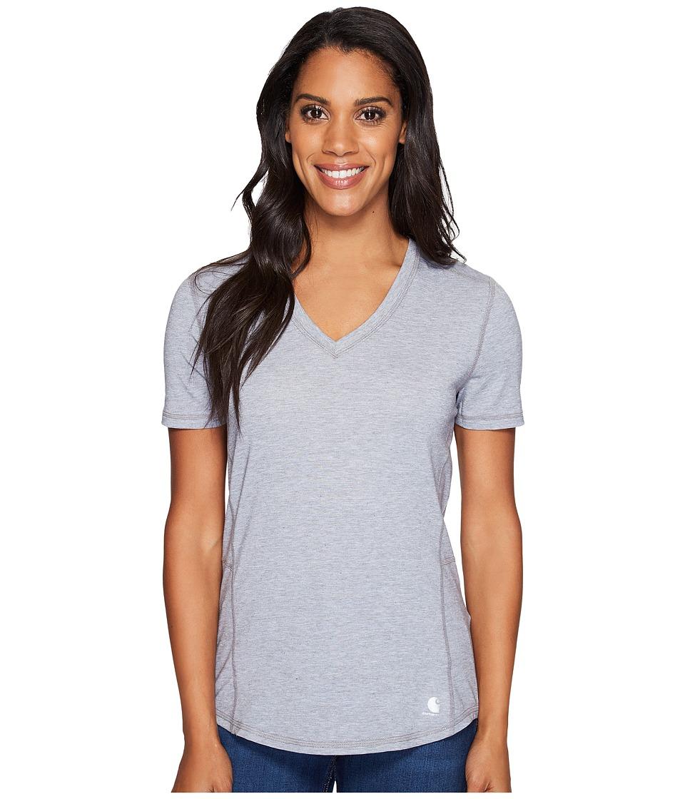 Carhartt - Force Ferndale T-Shirt (Asphalt Heather) Women's T Shirt