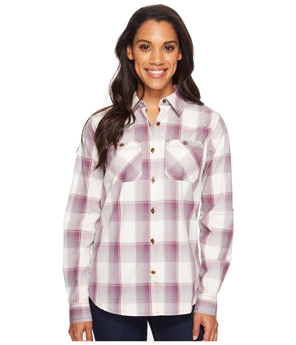 Carhartt - Huron Shirt (Vintage Violet) Women's Short Sleeve Button Up