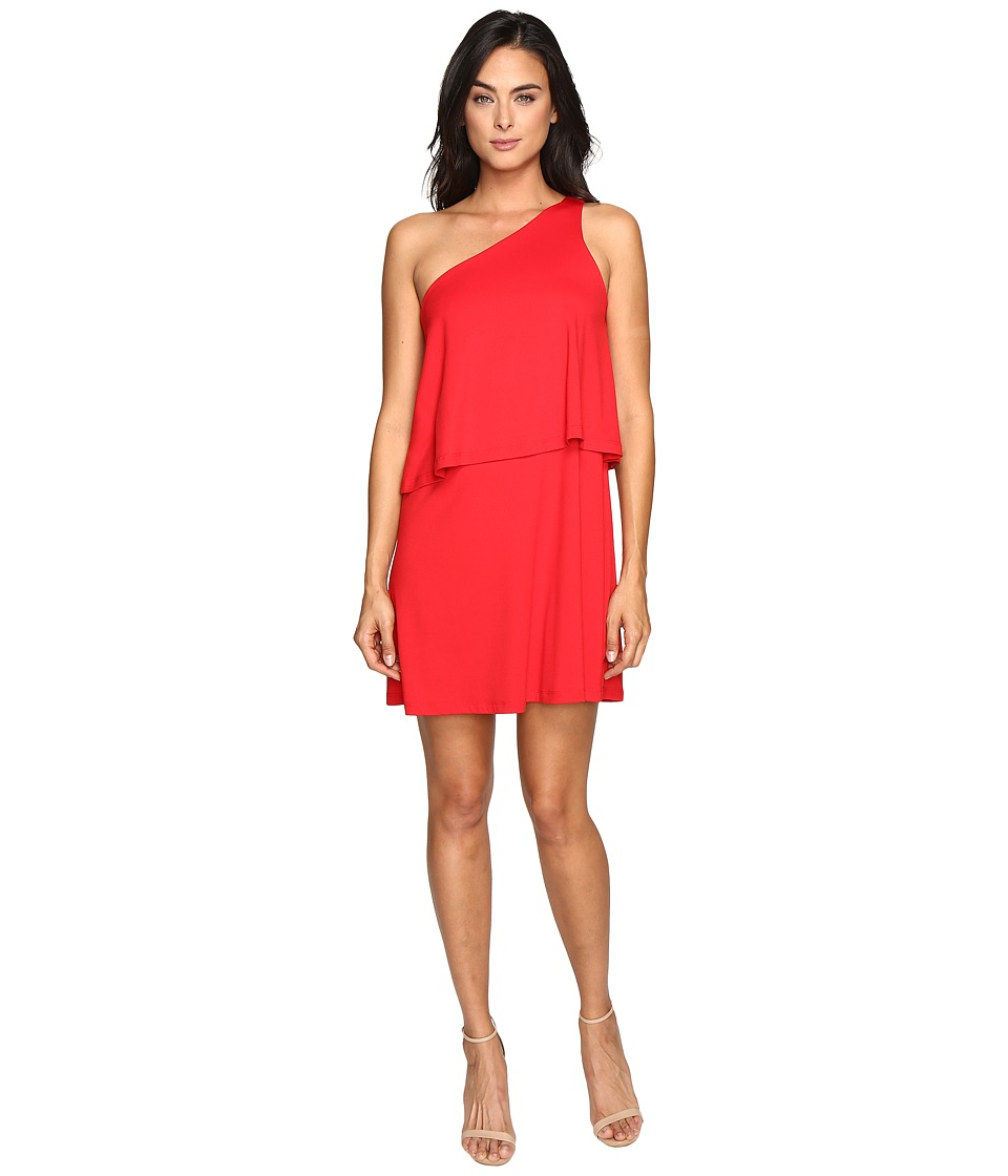 Susana Monaco Allie Dress (Perfect Red) Women