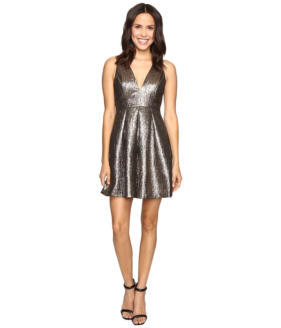 Susana Monaco - Maddie Dress (Gold) Women's Dress