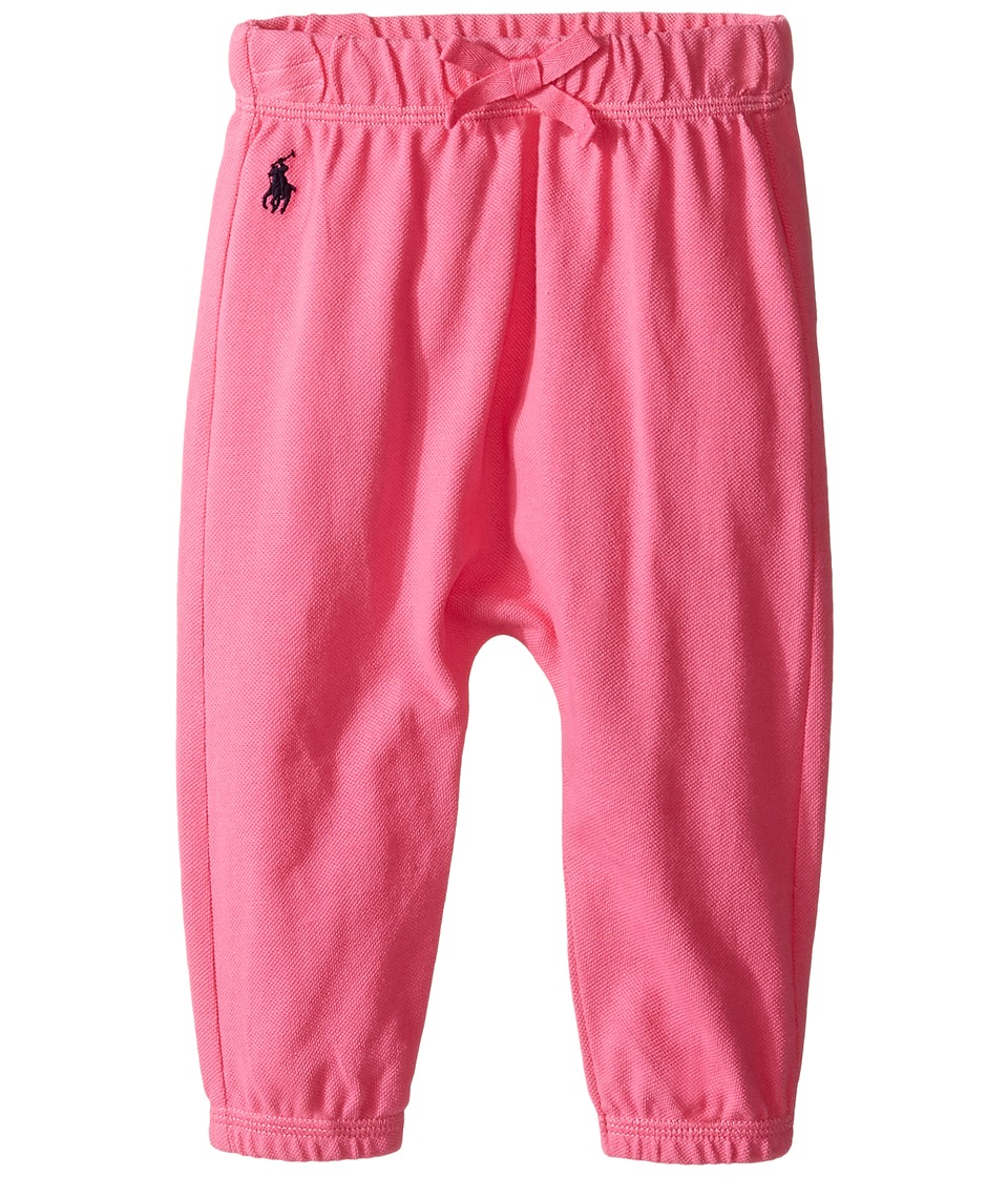 Ralph Lauren Baby - Mesh Pants (Infant) (Desert Pink) Girl's Casual Pants