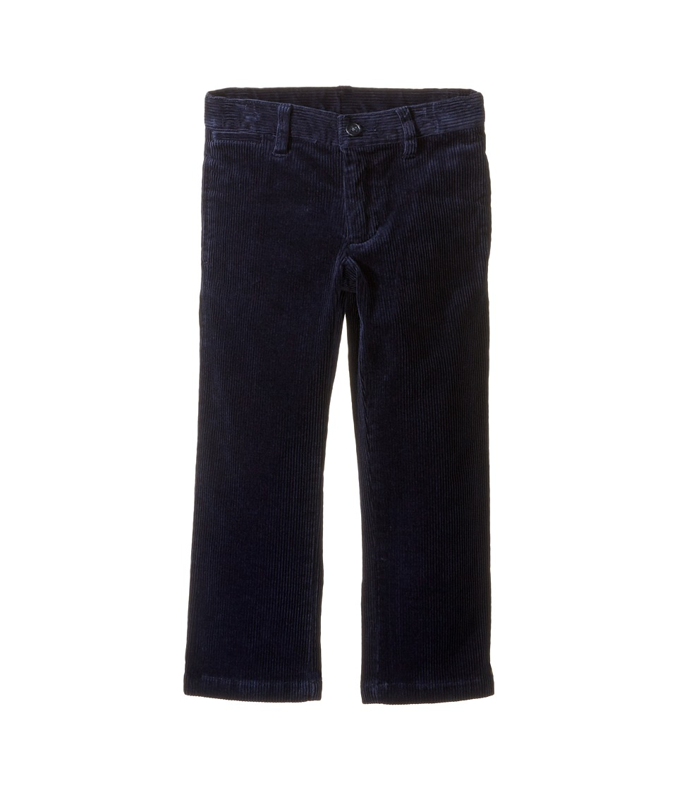 Polo Ralph Lauren Kids - Suffield Stretch Corduroy Pants (Toddler) (French Navy) Boy's Casual Pants