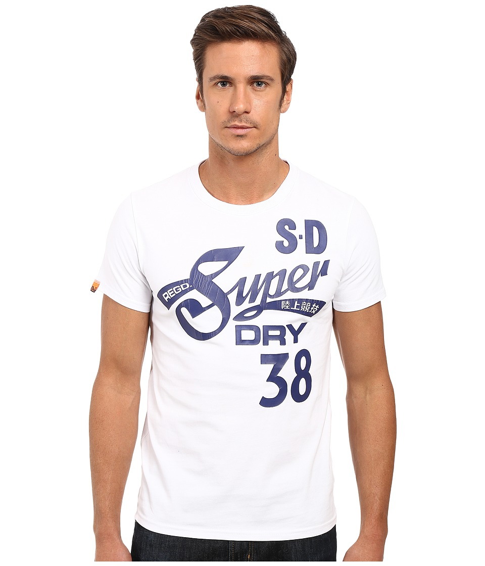 Superdry - Cali Tails Entry Tee (Optic) Men's T Shirt