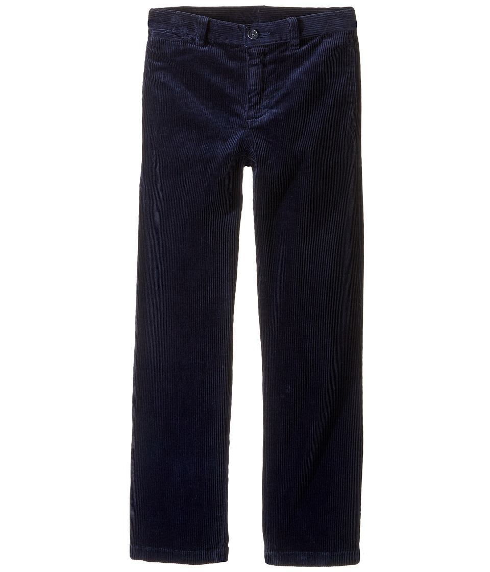 Polo Ralph Lauren Kids - Suffield Stretch Corduroy Pants (Little Kids) (French Navy) Boy's Casual Pants