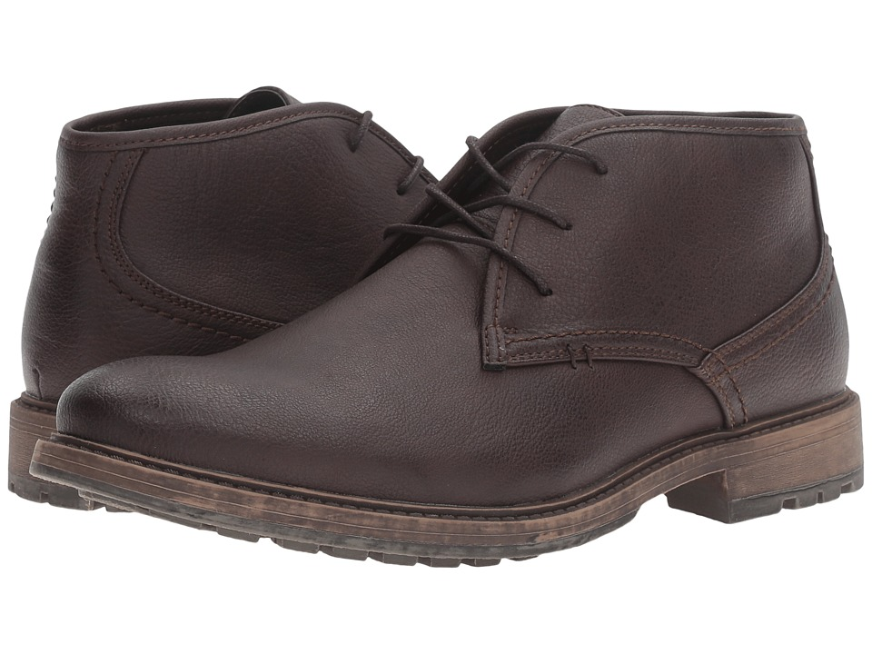 Kenneth Cole Unlisted - On The Subject (Dark Brown) Men's Lace-up Boots