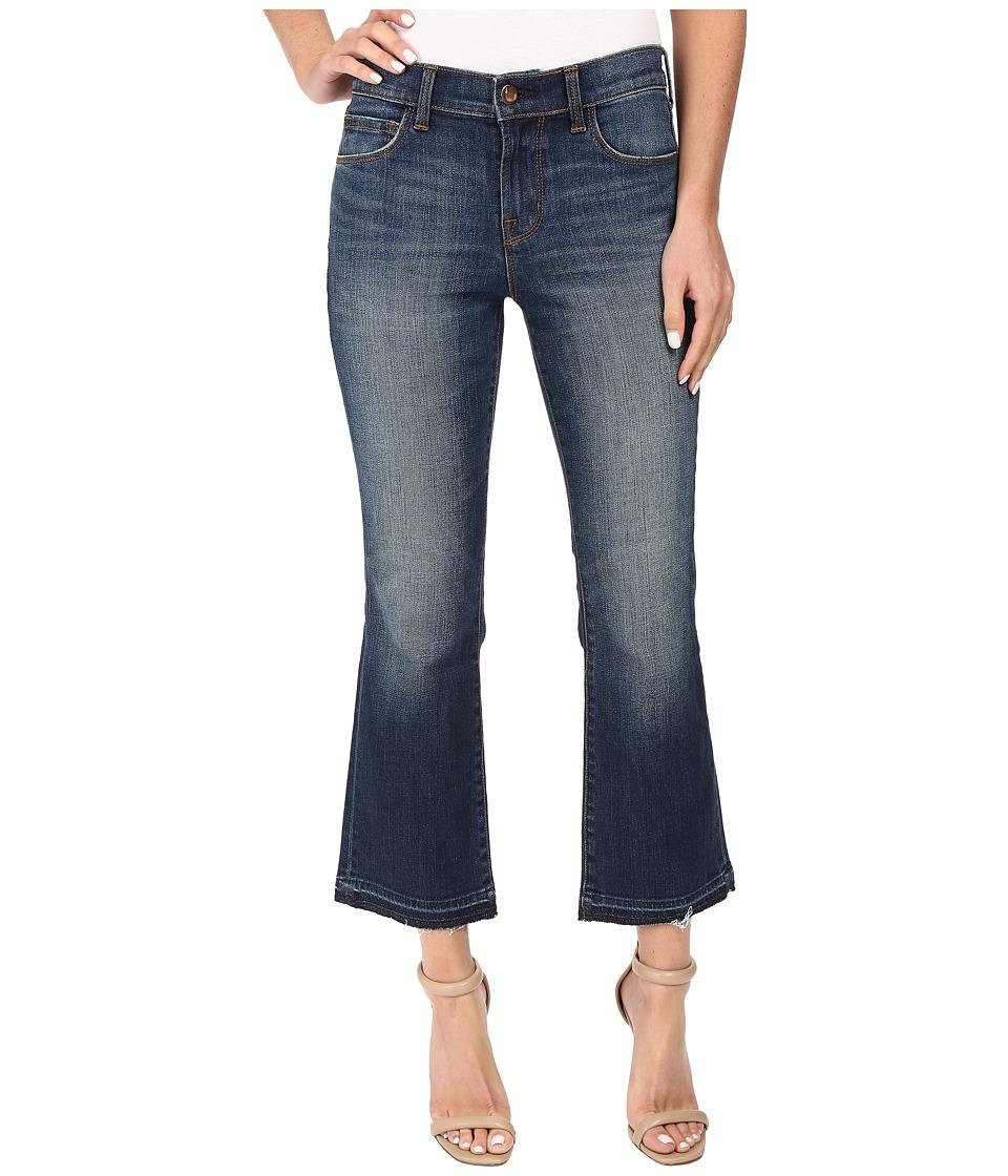 J Brand - Selena Mid-Rise Crop Bootcut in Undertow (Undertow) Women's Jeans