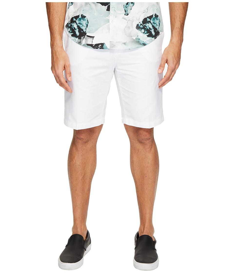 Calvin Klein Horizontal Ottoman Shorts (White) Men