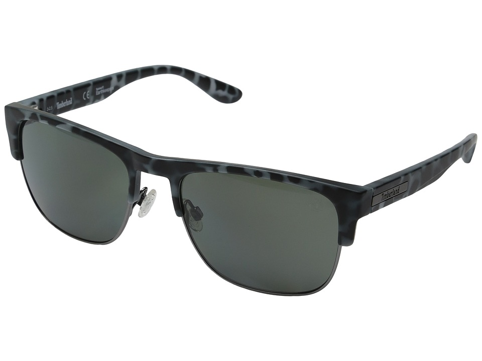 Timberland - TB9091 (Grey Tortoise) Fashion Sunglasses