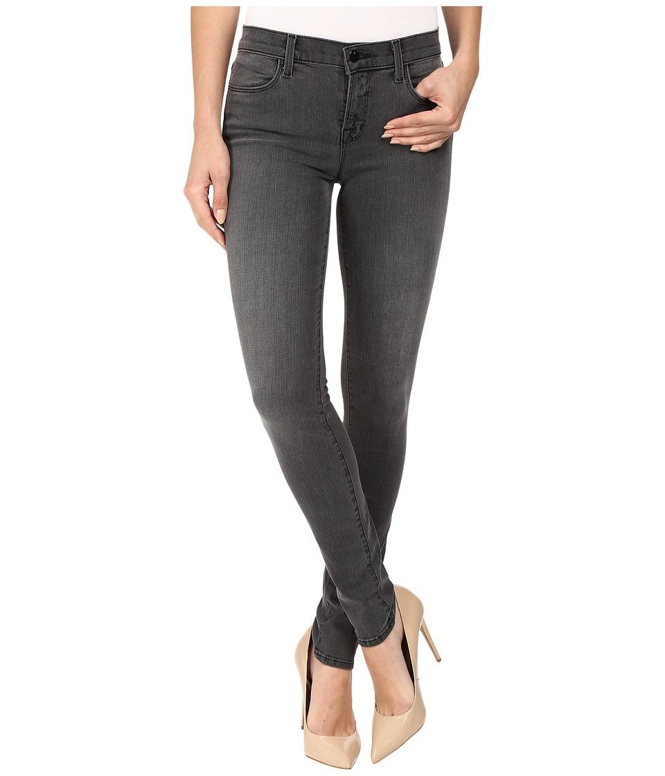 J Brand - Mid-Rise Super Skinny in Nightbird (Nightbird) Women's Jeans