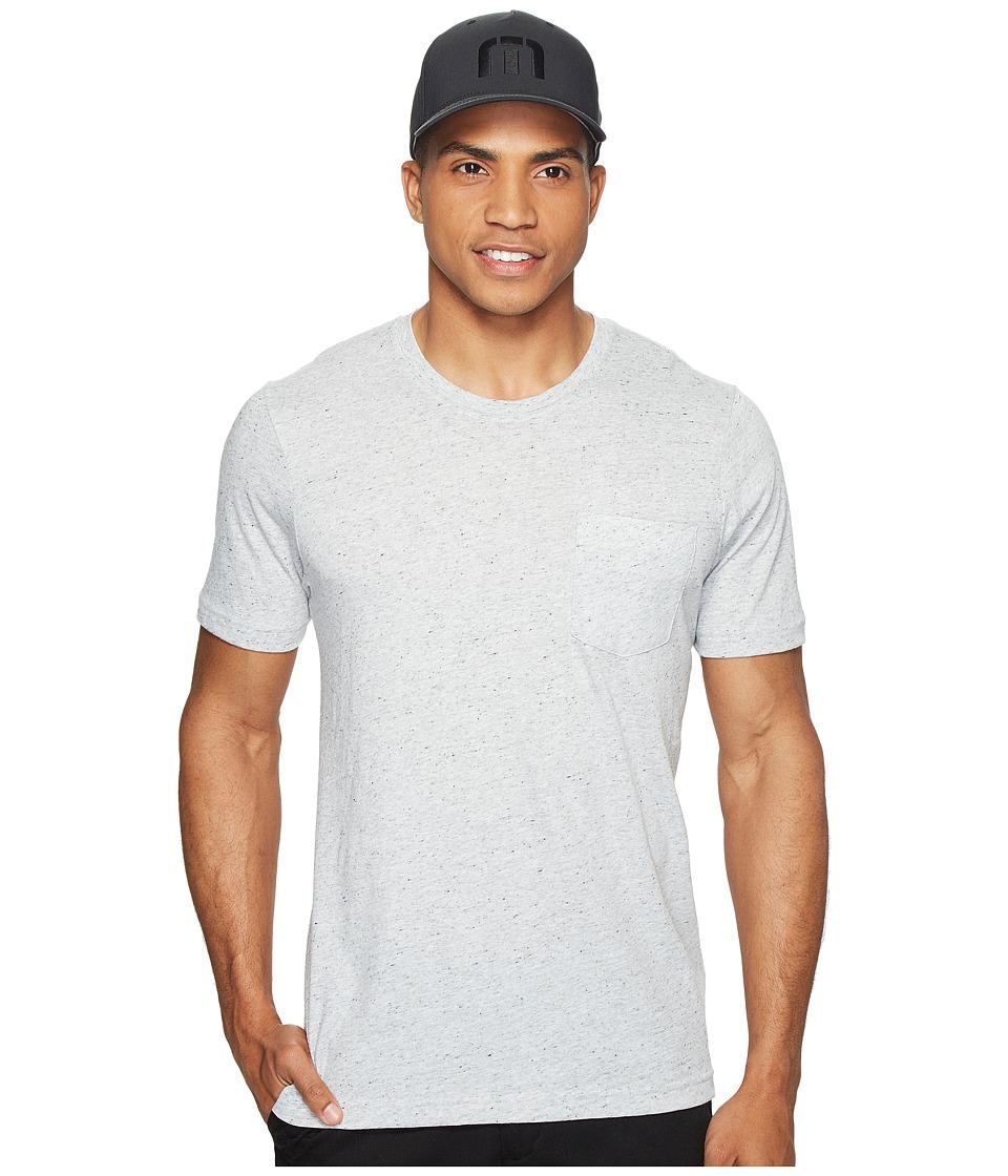 TravisMathew Spence T-Shirt (Heather Flinstone) Men