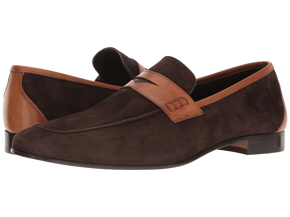 Bruno Magli Barth (Dark Brown/Tan) Men