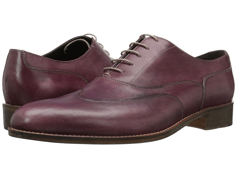 Bruno Magli - Simon (Burgundy) Men's Shoes