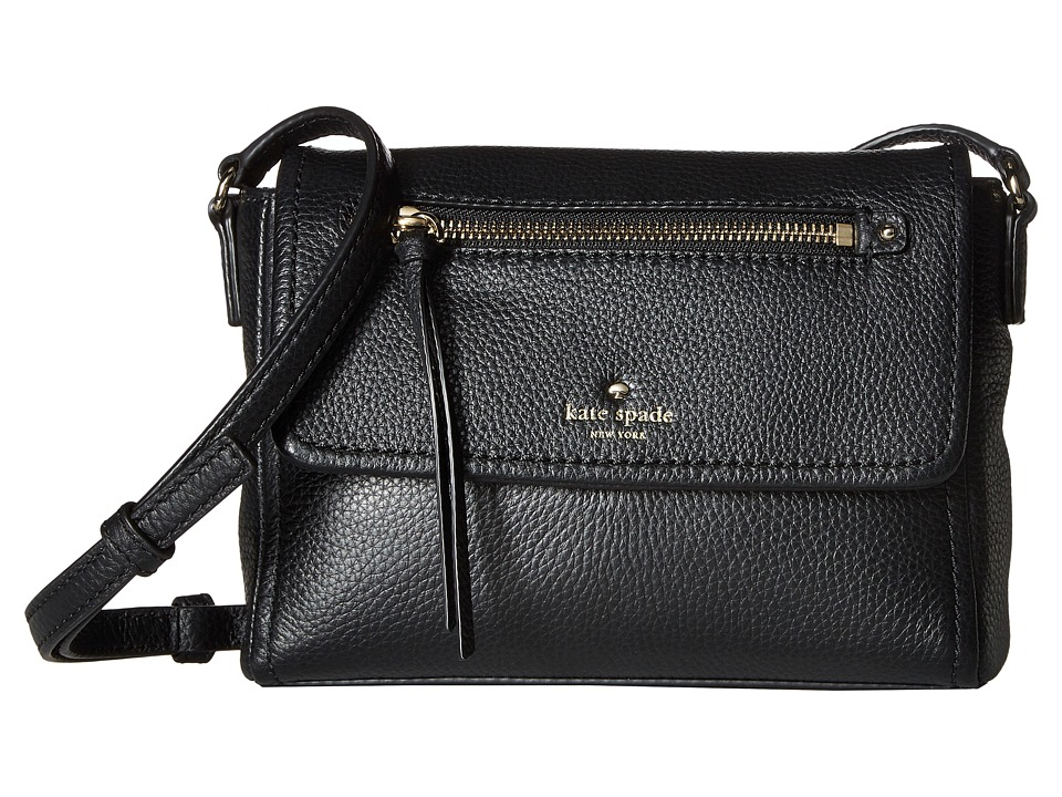 Kate Spade New York - Cobble Hill Mini Toddy (Black) Handbags
