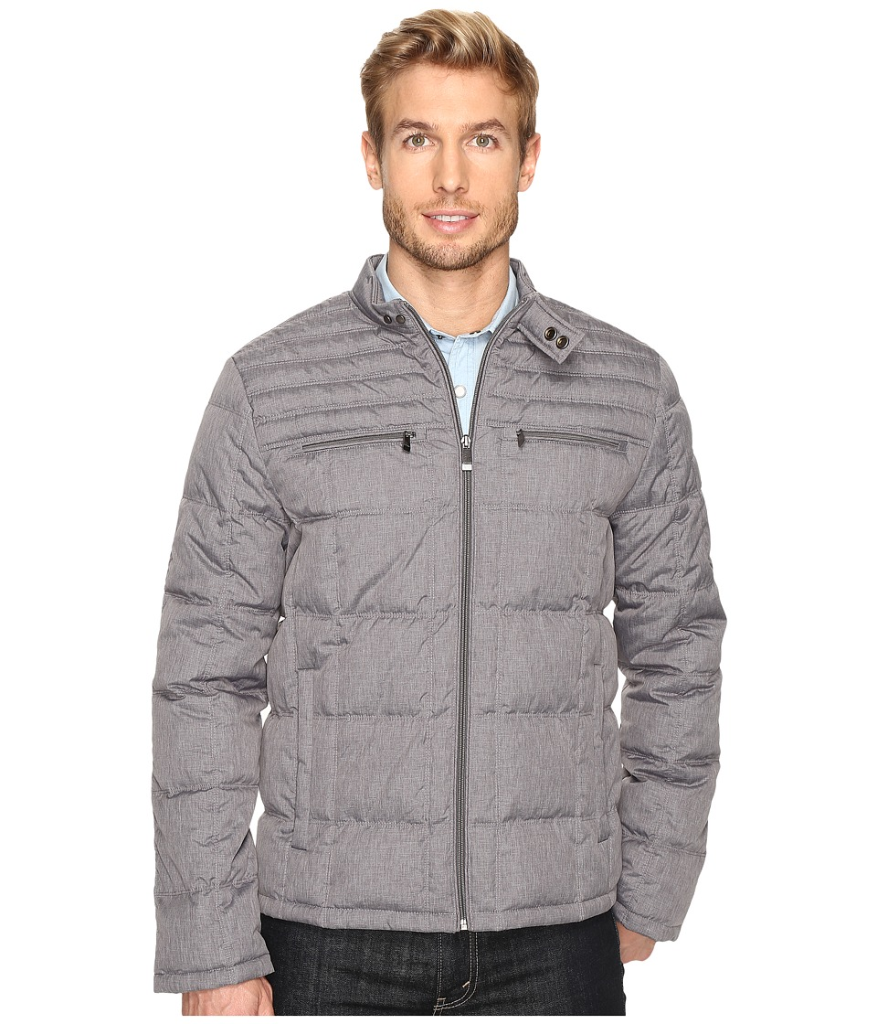Calvin Klein - Space Dye Puffer Jacket (Battleship) Men's Coat