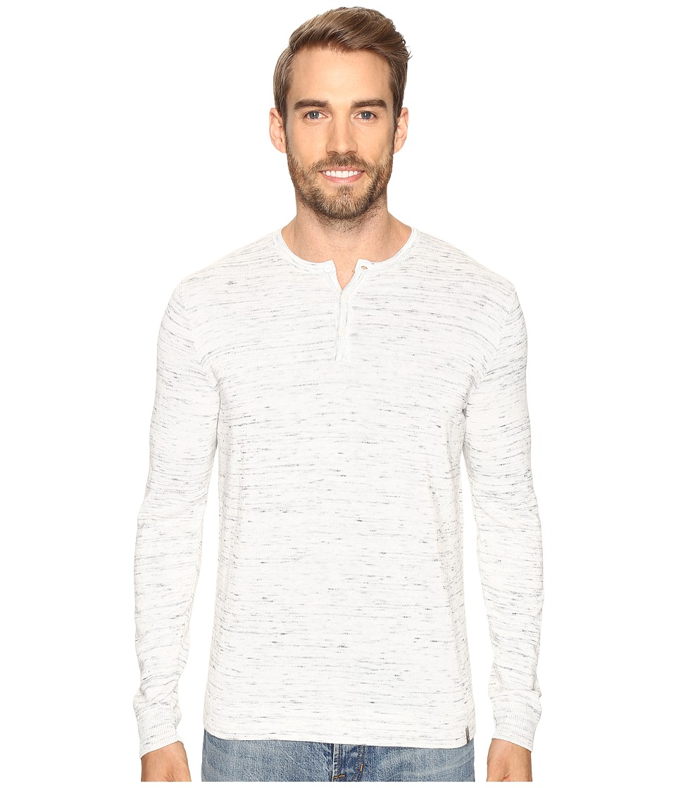 Calvin Klein - Cotton Modal Space Dye (Frost) Men's Sweater