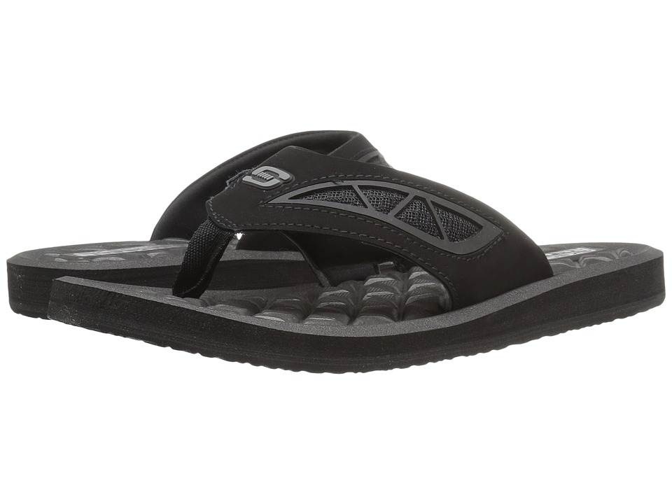 SKECHERS - Benny (Black) Men's Sandals