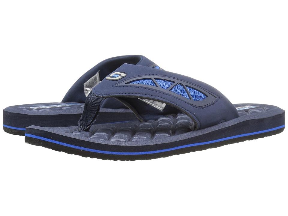 SKECHERS Benny (Navy/Blue) Men's Sandals. On sale ...