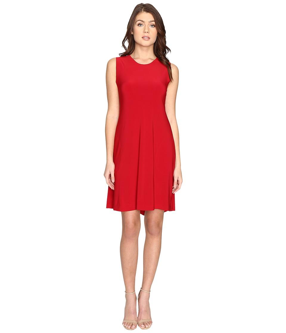 KAMALIKULTURE by Norma Kamali - Sleeveless Swing Dress (Red) Women's Dress