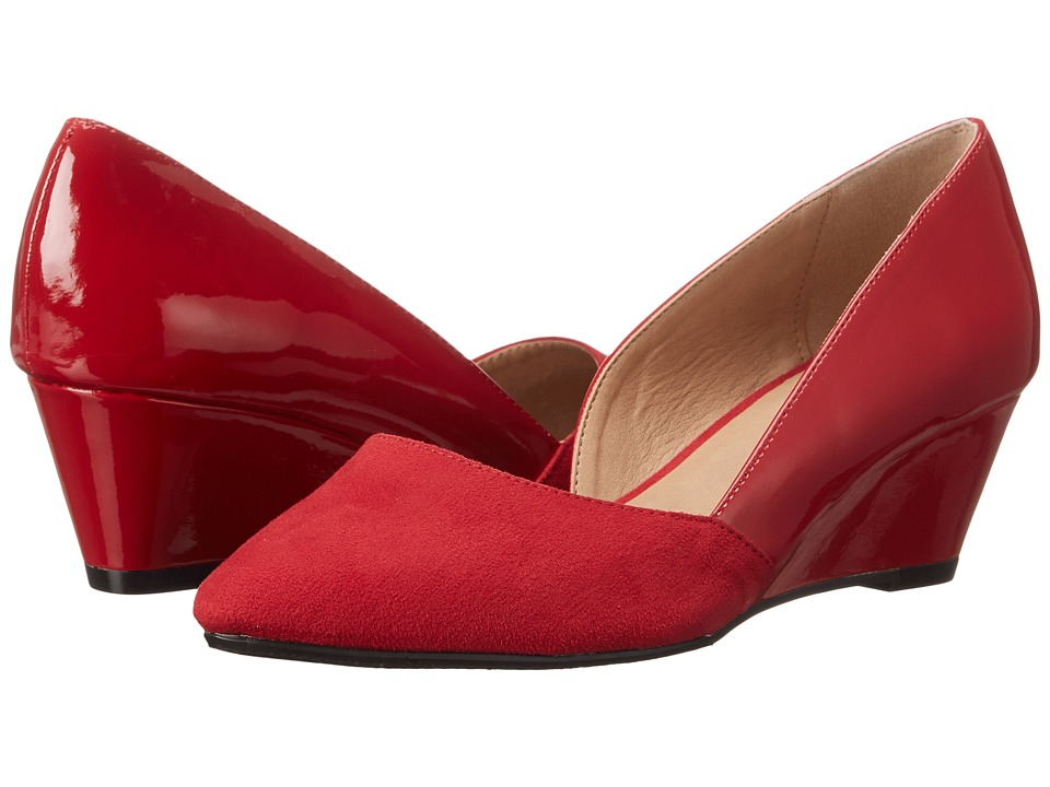 CL By Laundry Tracie (Chili Red Suede Patent) Women