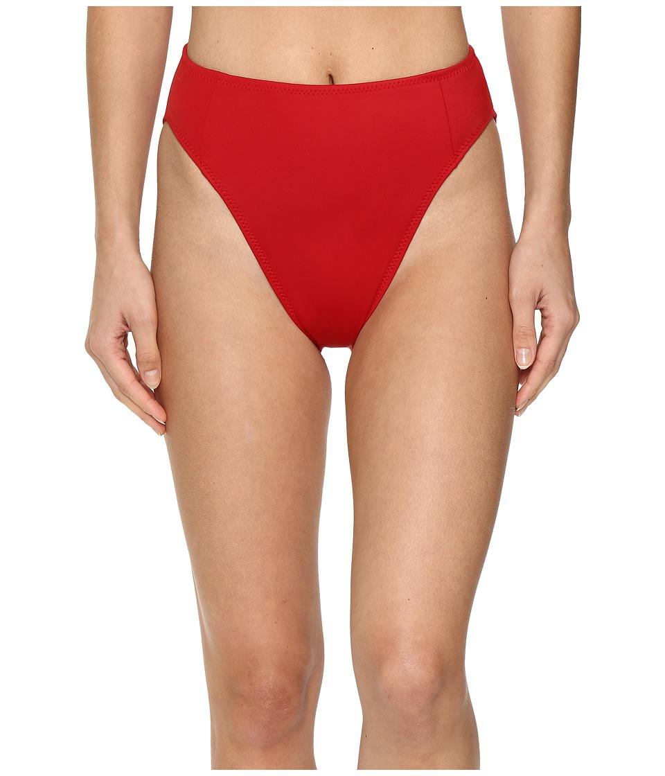 KAMALIKULTURE by Norma Kamali - Corset Bottom (Red) Women's Swimwear