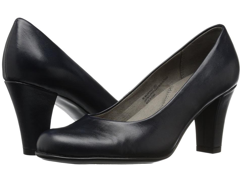Aerosoles - Major Role (Dark Blue Leather) Women's Shoes