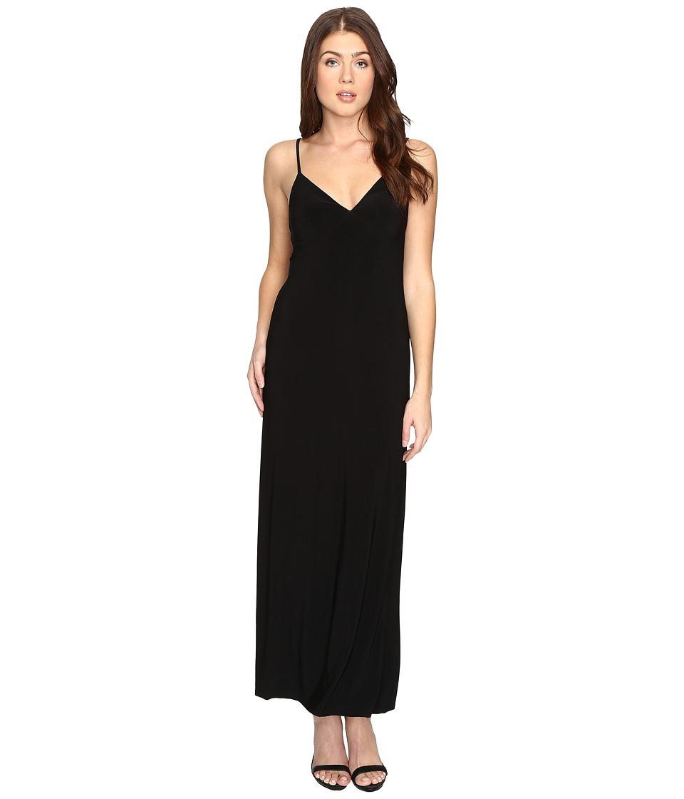 KAMALIKULTURE by Norma Kamali - Slip Gown (Black) Women's Dress