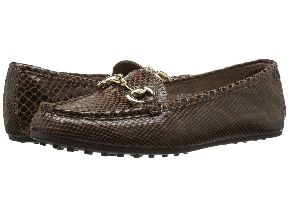 Aerosoles - Drive Through (Brown Snake) Women's Shoes