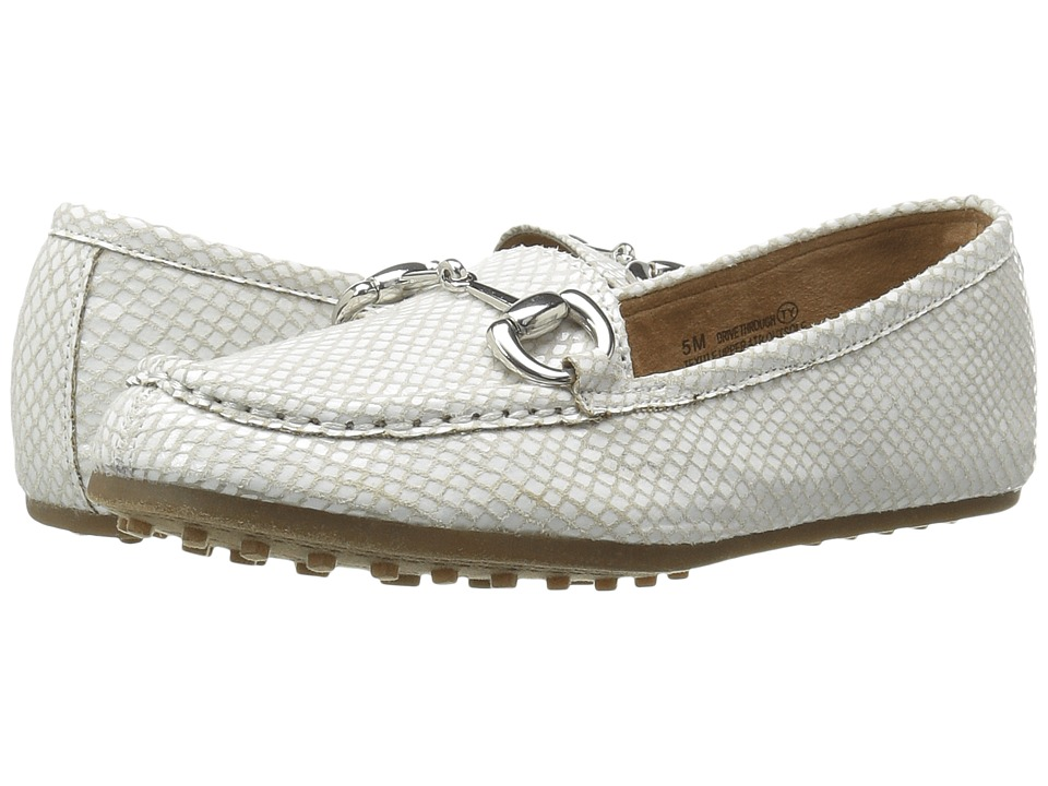 Aerosoles - Drive Through (White Snake) Women's Shoes