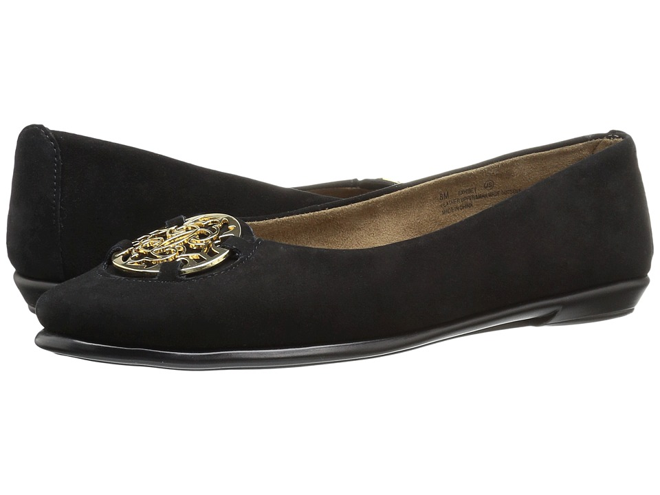 Aerosoles - Exhibet (Black Suede) Women's Shoes