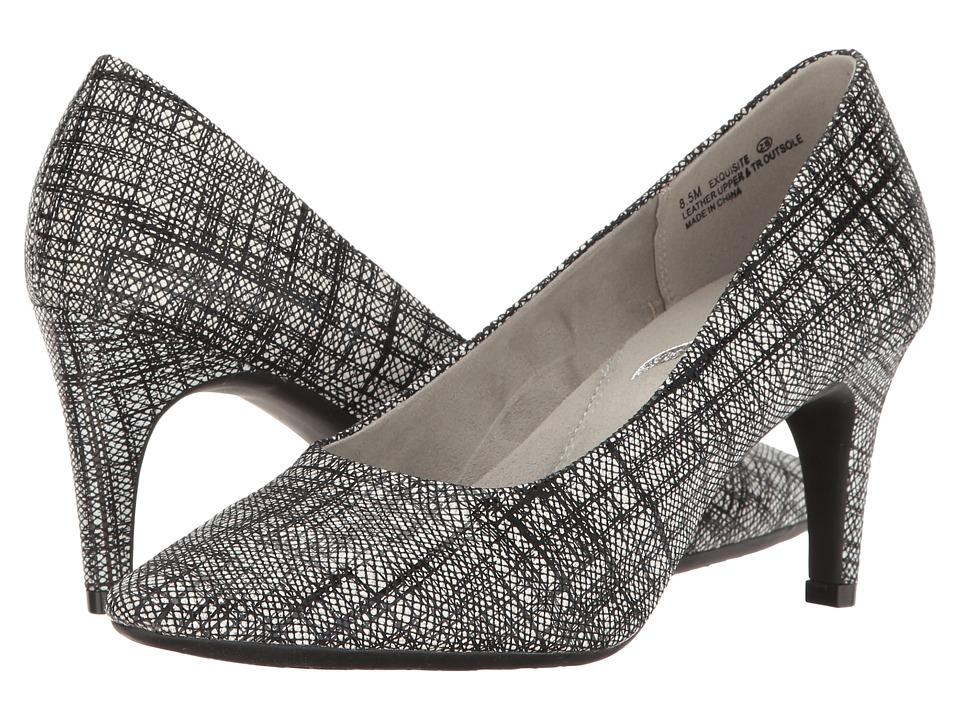 Aerosoles - Exquisite (Black/White Combo) High Heels