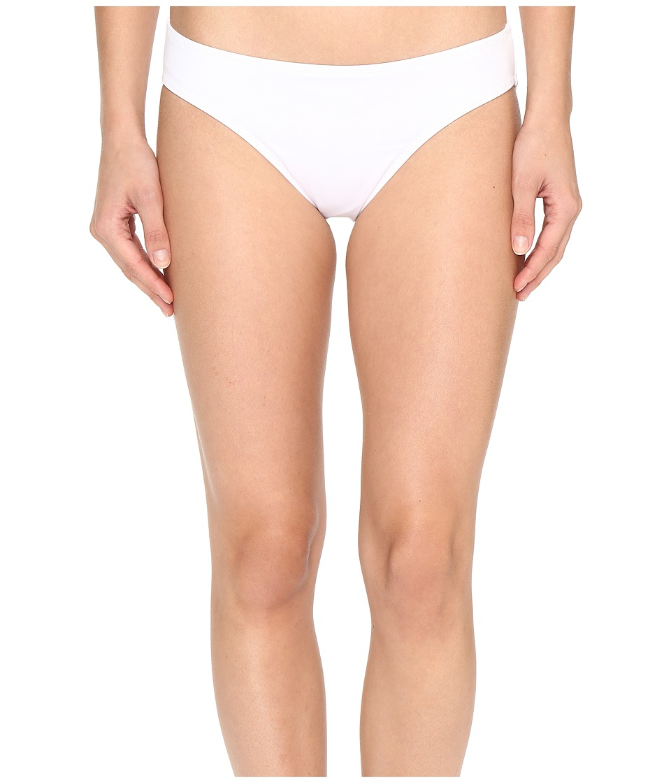 KAMALIKULTURE by Norma Kamali - Scoop Bottom (White) Women's Swimwear