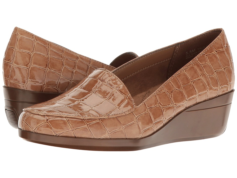 Aerosoles - True Match (Tan Croco) Women's Shoes