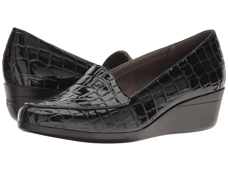 Aerosoles - True Match (Blue Croco) Women's Shoes