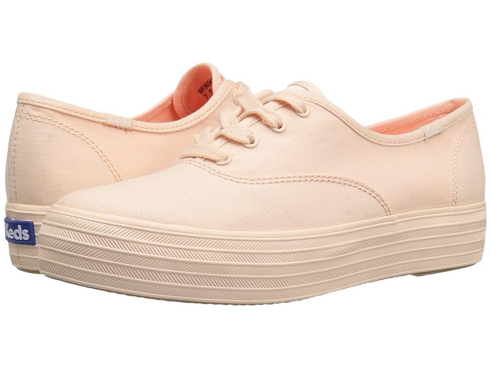 Keds - Triple Seasonal (Peach) Women's Shoes