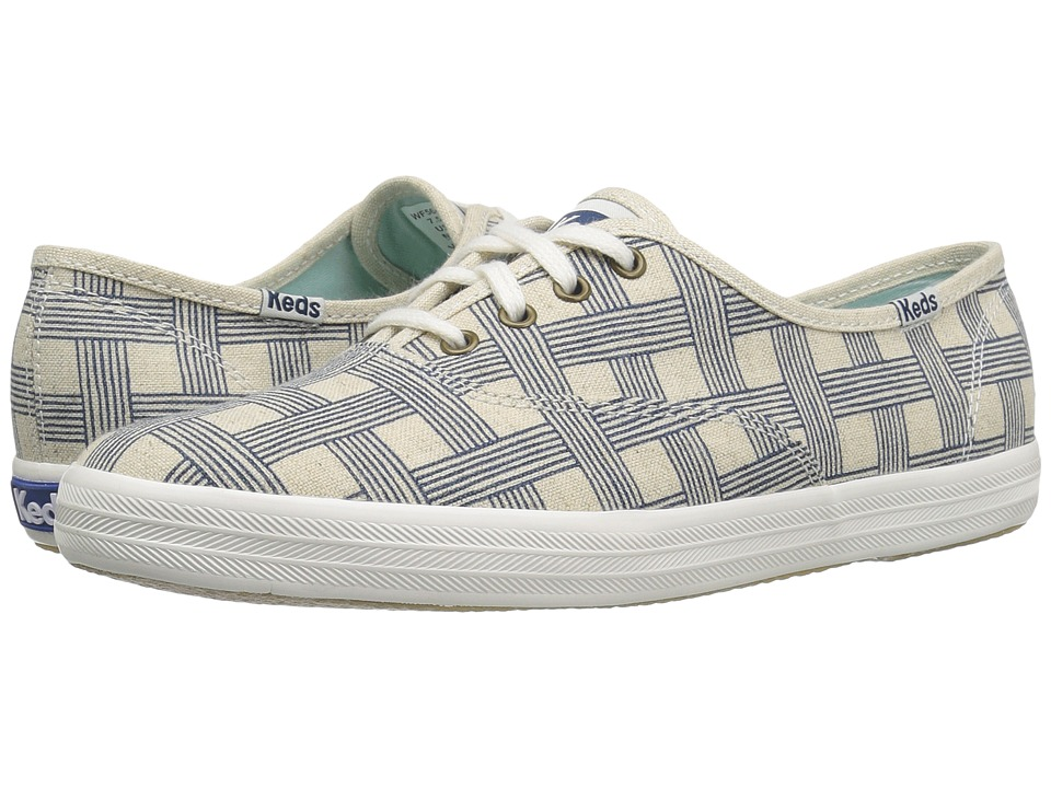 Keds Champ Basketweave (Natural) Women