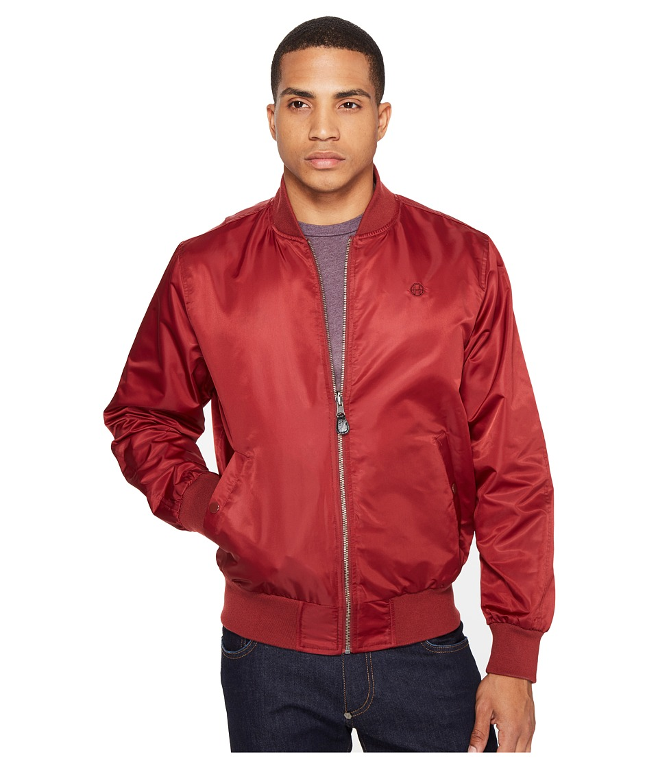 HUF - Shots Bomber Jacket (Burgundy) Men's Coat