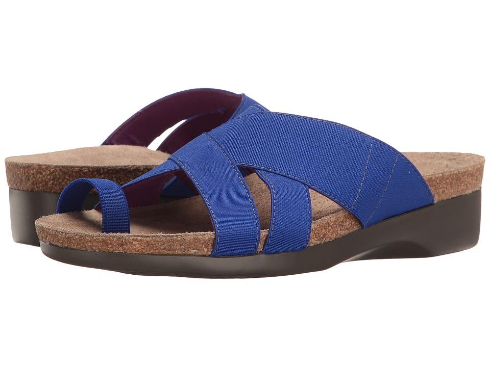 Munro - Delphi (Blue Elastic) Women's Shoes