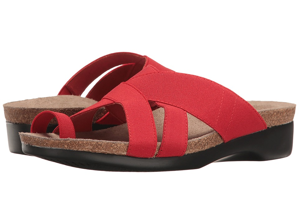 Munro - Delphi (Red Elastic) Women's Shoes