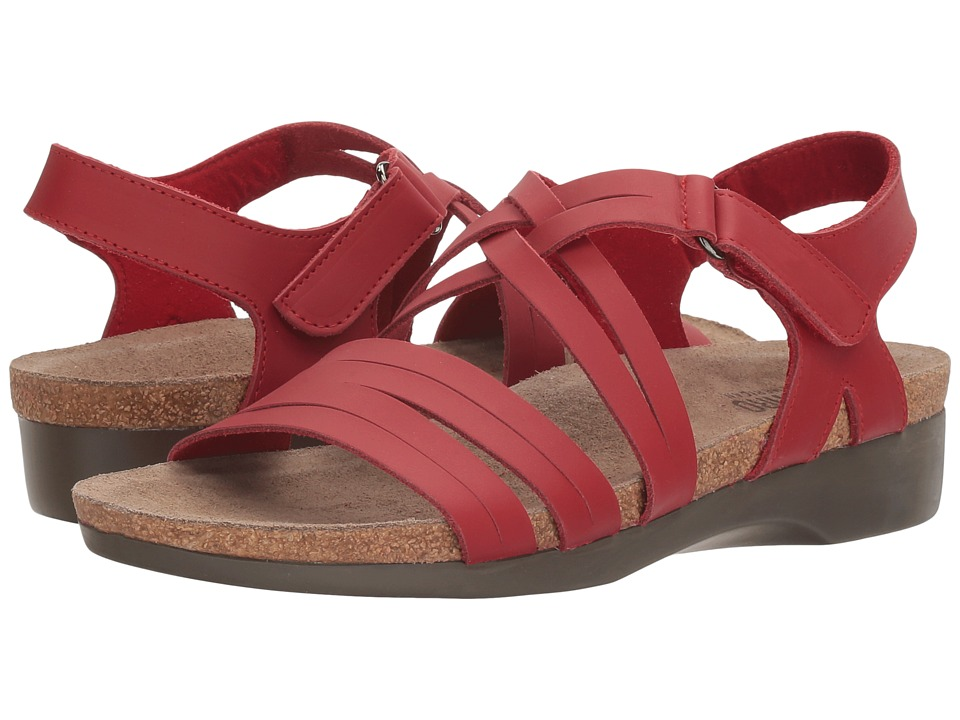 Munro Kaya (Red Leather) Women