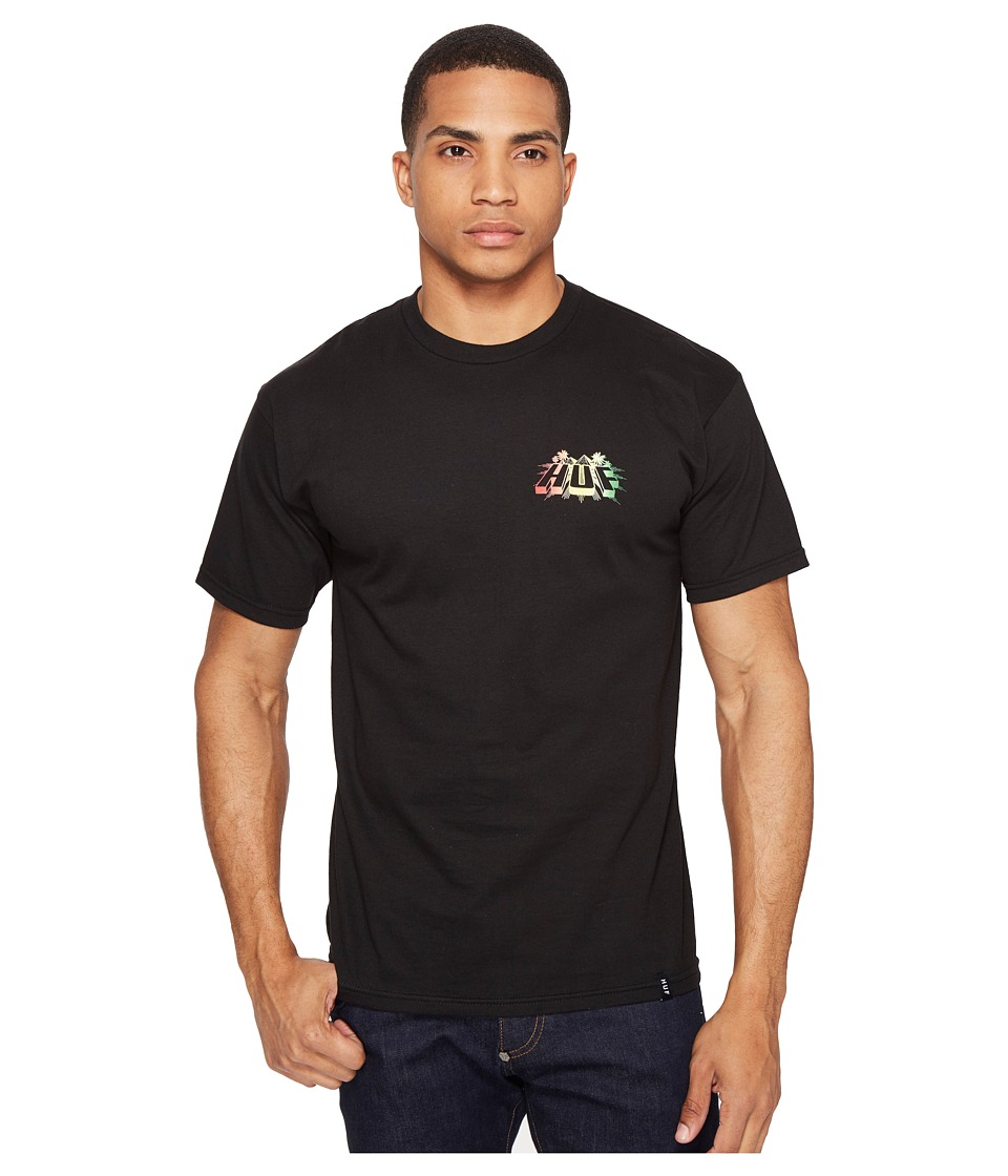 HUF - Pyramid Tee (Black) Men's T Shirt